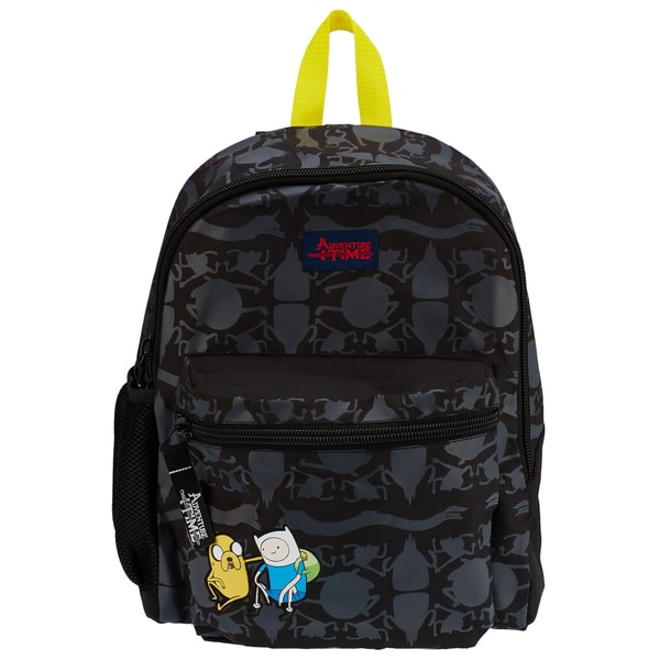 Adventure Time Finn and Jake Black Backpack