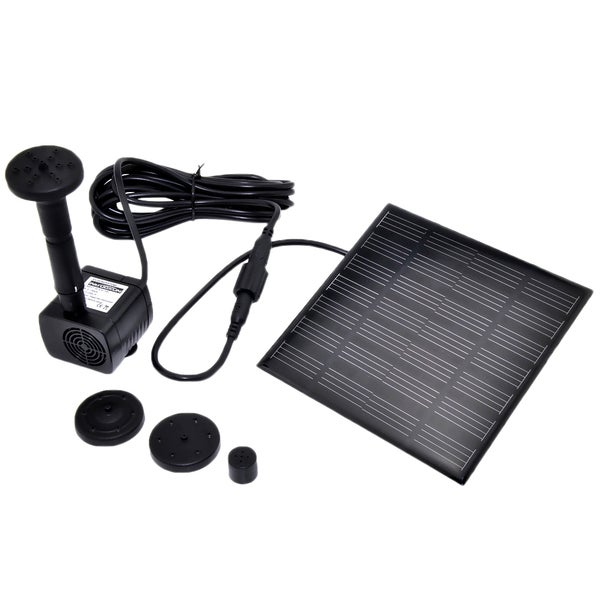 Patuoxun 1.2-watt Solar Panel Power Garden Pond Submersible Fountain Water Pump
