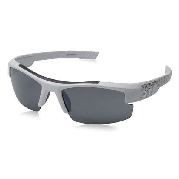 Under Armour Nitro L Youth Shiny white and Black Multiflection Sunglasses.