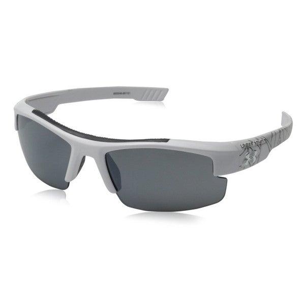 Under Armour Nitro L Youth Shiny white and Black Multiflection Sunglasses.
