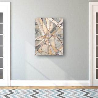 Portfolio Canvas Decor D. Davis 'Cross Country' Framed Canvas Wall Art