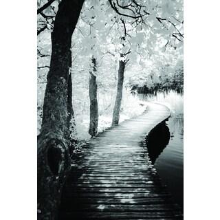 Ilona Wellmann 'Take A Walk' Framed Canvas Wall Art