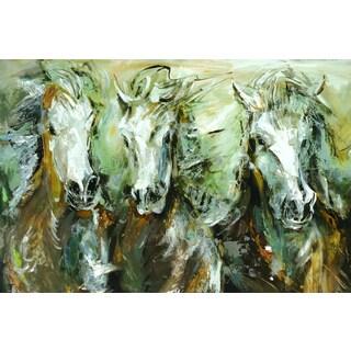 Sandy Doonan 'Wild Ride Three II' Framed Canvas Wall Art
