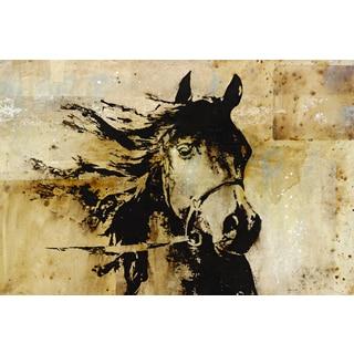 Portfolio Canvas Decor Carney 'Mettle' Framed Canvas Wall Art