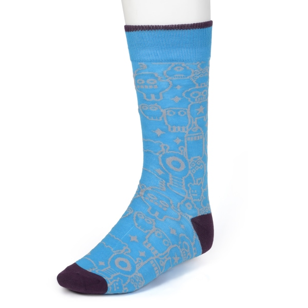 Marc Ecko Men's Colorful Patterned Dress Socks