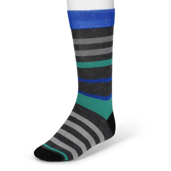 Marc Ecko Men's Colorful Patterned Dress Socks