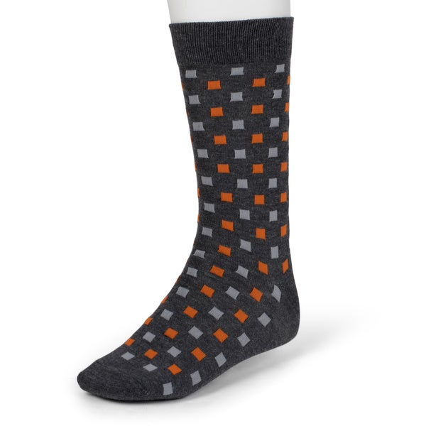 Beverly Hills Polo Club Men's Colorful Patterned Dress Socks