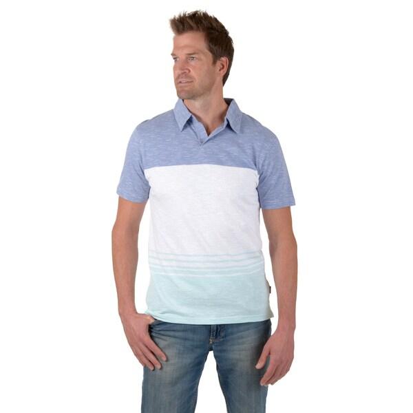 Vance Co. Men's Short-sleeve Striped Knit Shirt