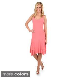 Timeless Comfort byJournee Women's Sleeveless A-line Dress