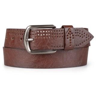 Vance Co. Men's Casual Genuine Leather Belt