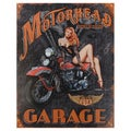 Vintage Metal Art 'Legends Motorhead' Decorative Tin Sign