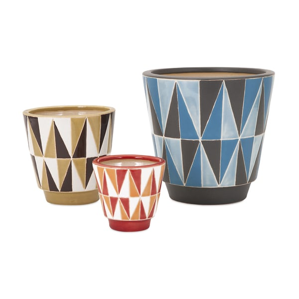 Jair Earthenware Planters (Set of 3)