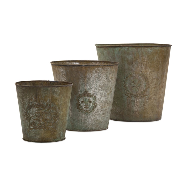 Jessie Metal Flower Pots (Set of 3)
