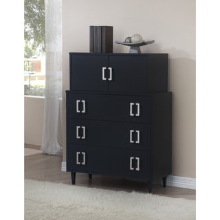 Navy Empire 2-door 3-drawer Chest