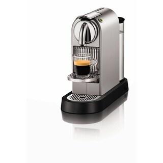Nespresso CitiZ D110 Espresso Machine, Silver Chrome
