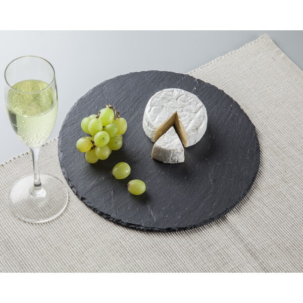 Round Slate Cheese Trays/Board