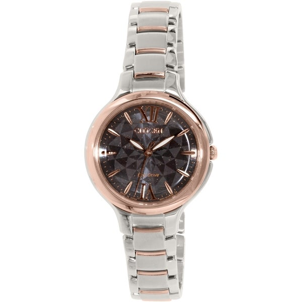 Citizen Women's EP5996-53H Silver Stainless-Steel Eco-Drive Watch