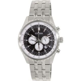 Citizen Men's AN8060-57E Silver Stainless-Steel Quartz Watch