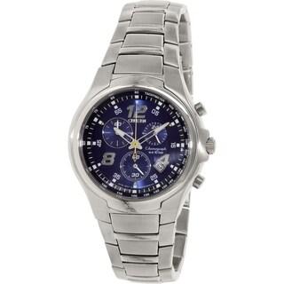 Citizen Men's AN7010-51L Blue Stainless-Steel Quartz Watch