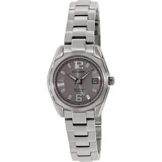 Citizen Women's Eco-Drive EW2101-59A Silver Titanium Eco-Drive Watch