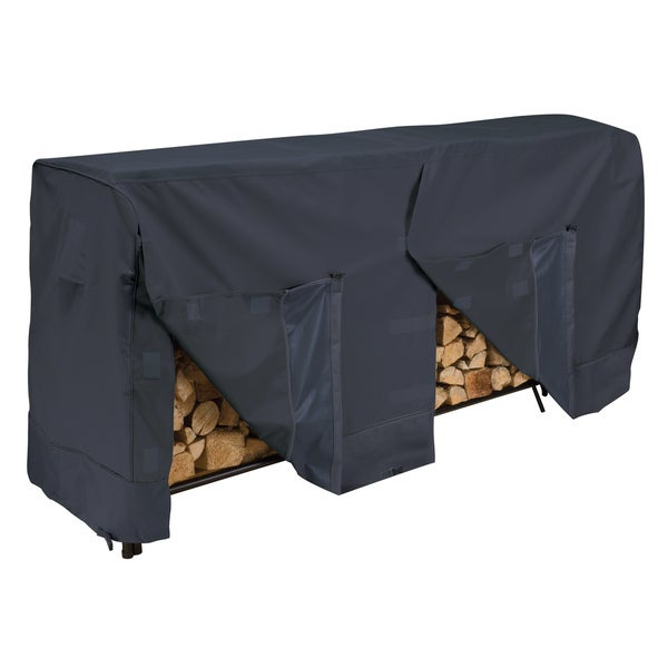 Classic Accessories Black Log Rack Cover