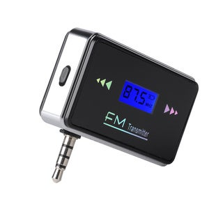 Patuoxun In-car FM Transmitter and Charger for 3.5mm Headphone Jack Devices