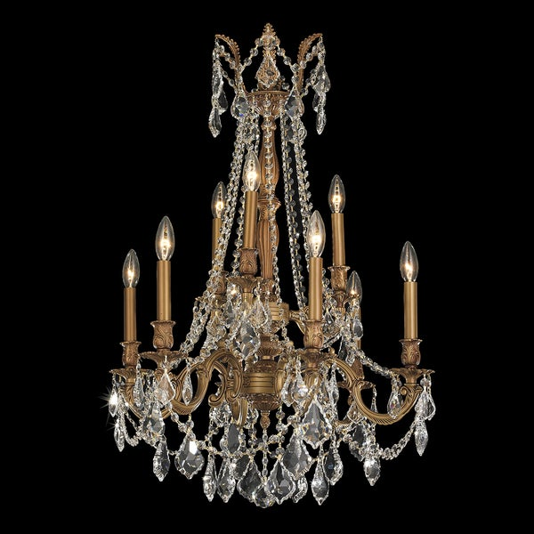 French Imperial Light French Gold Clear Crystal Tier