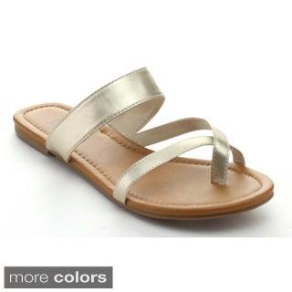 Bonnibel Alba-2 Women's Slip On Flat Sandals
