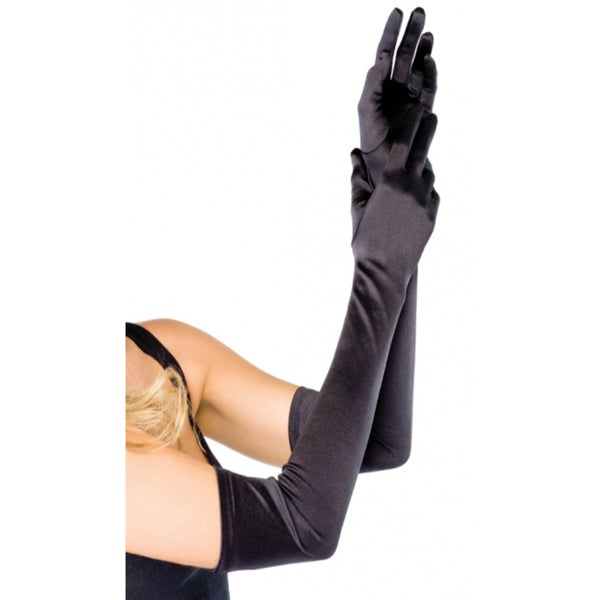 Leg Avenue Women's Extra Long Satin Gloves