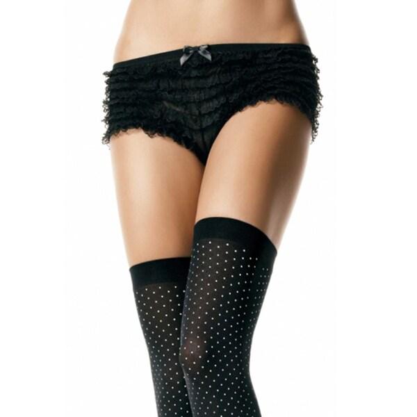 Women's Ruffle Lace Tanga Shorts