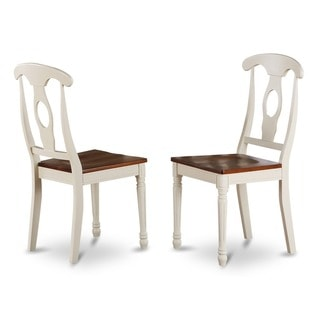 Napoleon-styled Wooden Buttermilk/ Cherry Dining Chair (Set of 2)