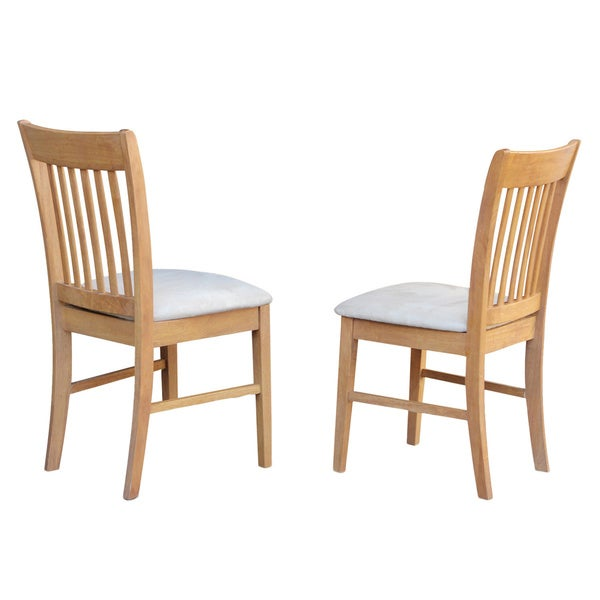 Norfolk Oack kitchen dining chair (Set of 2) (As Is Item)