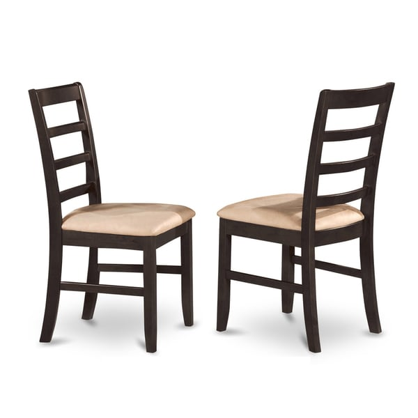 black cherry dining chair set of 2 parfait black cherry dining chair