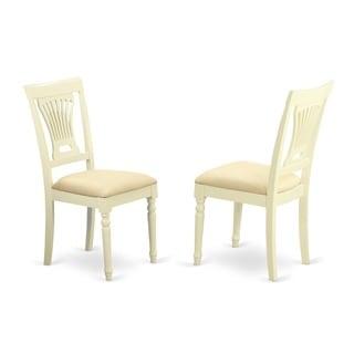 Plainville Buttermilk/ Cherry Dining Chair (Set of 2)