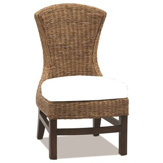 Bahama Breeze Floral Side Dining Chair
