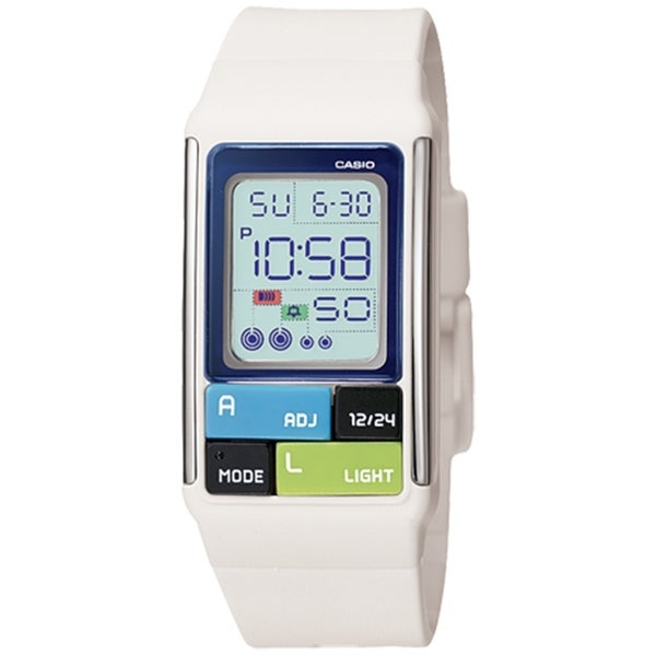 Casio Women's LDF50-7 Digital Resin Quartz Watch