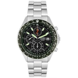 Seiko Men's Tachymeter SND253 Stainless Steel Quartz Watch