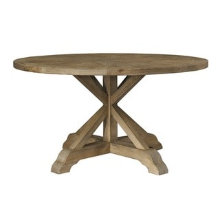 Salvaged Wood 60-inch Round Dining Table