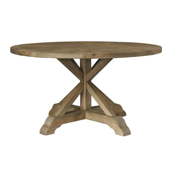 salvaged wood 60 inch round dining table 17292296