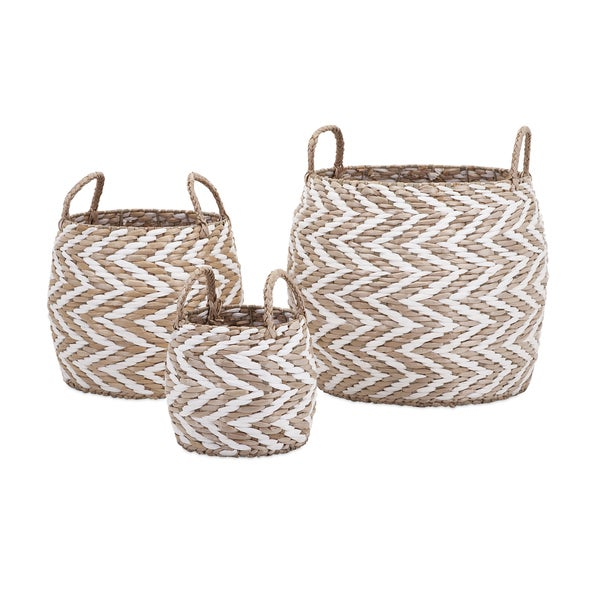 Laci Woven Baskets (Set of 3)