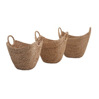 Caitlan Natural Weave Baskets (Set of 3)