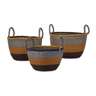 Camila Seagrass Baskets (Set of 3)