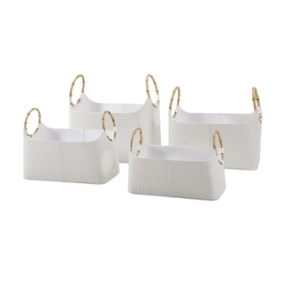 Amelia Magazine Baskets (Set of 4)