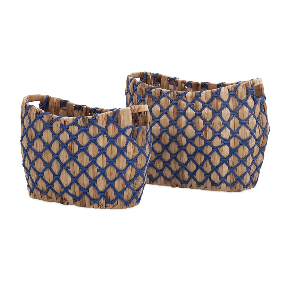 Hali Natural Weave Baskets (Set of 2)
