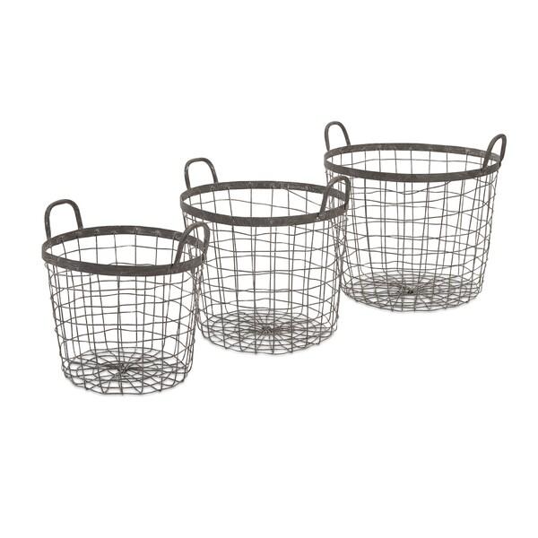 Metro Wire Baskets (Set of 3)