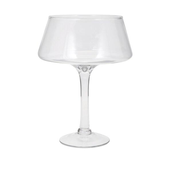 Hedy Glass Pedestal Bowl - Large