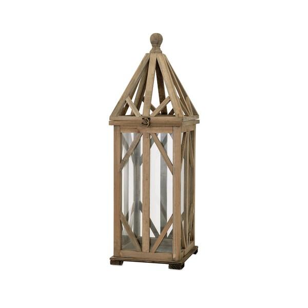 Garmen Wood Lantern - Small