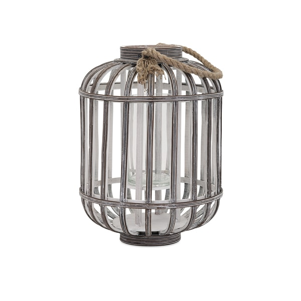 Jate Wood Lantern - Small