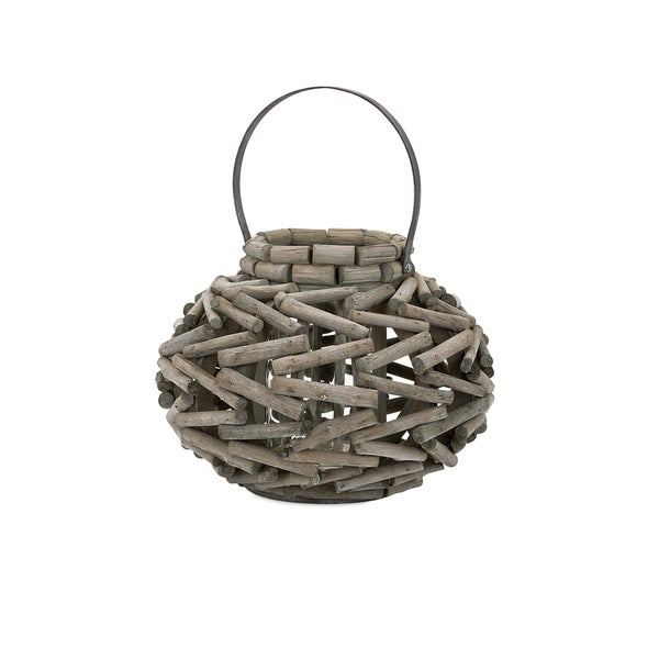 Monroe Wood Lantern - Small