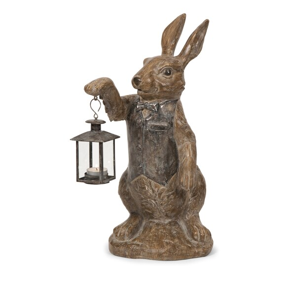 Mr. Rabbit Candle Lantern
